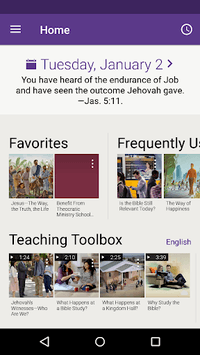 JW Library PC screenshot 1
