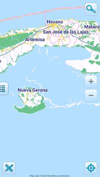 Map of Cuba offline pc screenshot 1