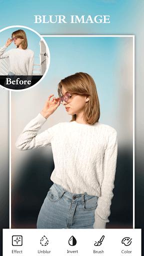 Blur Photo Editor Pro- Background Changer Effects PC screenshot 1