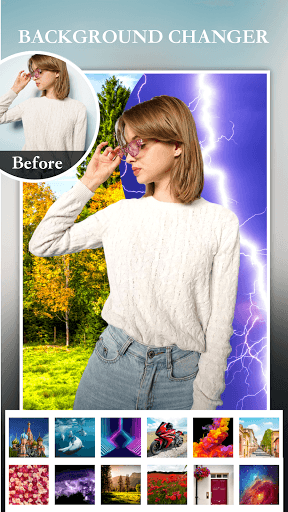 Blur Photo Editor Pro- Background Changer Effects PC screenshot 2