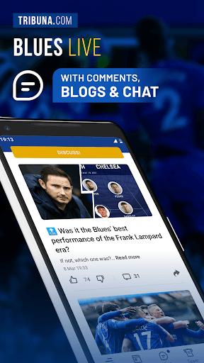 Blues Live Unofficial — Scores & News for Fans pc screenshot 1