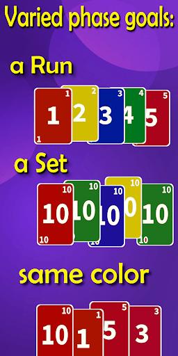 Super Phase Rummy card game PC screenshot 3