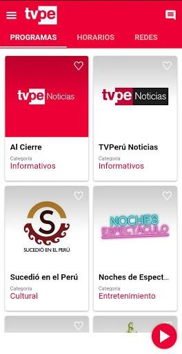 TVPerú pc screenshot 1