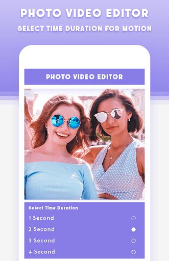 Photo Video Editor With Music pc screenshot 1