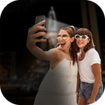 Night Selfie Camera With Front Flash icon