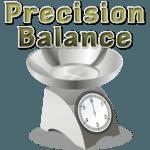 Precision digital scale icon