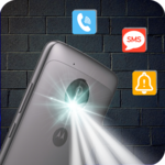 Flash Alerts on Call & SMS - Ringing Flashlight icon