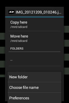 Send to SD card pc screenshot 1