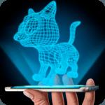 Hologram 3D Cat Simulator icon