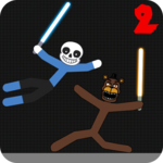 Stickman Warriors Fnaf Vs Sans icon