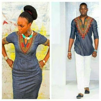 African Couple Outfits - African Dresses pc screenshot 1