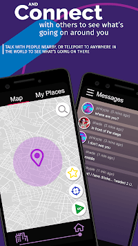 PROX CHAT ROOMS - Find people places events nearby pc screenshot 1