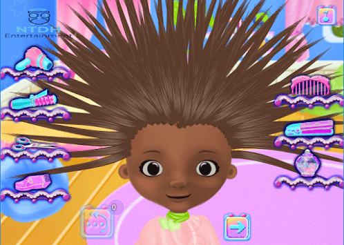 Fantasy Hairstyle, dress up fashion games for girl pc screenshot 1