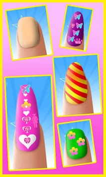 Nail Art Girl Manicure pc screenshot 1