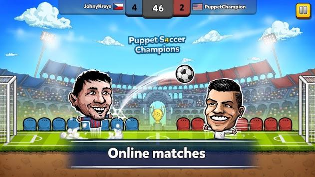 ⚽ Puppet Soccer Champions – League ❤️🏆 pc screenshot 1