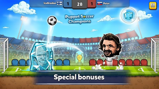 ⚽ Puppet Soccer Champions – League ❤️🏆 pc screenshot 2