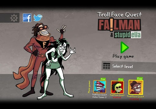 Troll Face Quest: Stupidella and Failman pc screenshot 1