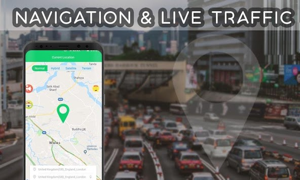 GPS Directions Finder : Maps Traffic & Travel pc screenshot 1