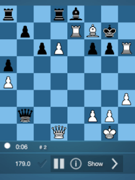 Free Chess Practice Puzzle pc screenshot 1
