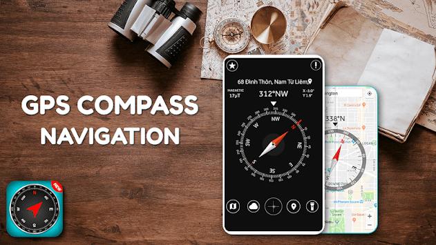 GPS Compass Navigation pc screenshot 1