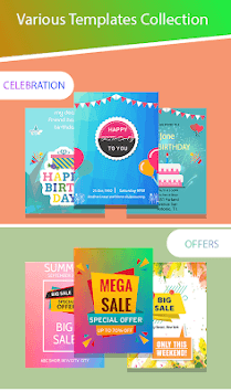 Poster Maker & Flyer, Ads,Invitation Maker pc screenshot 1