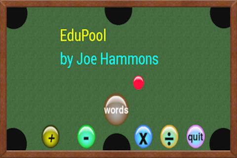 Edu Pool pc screenshot 1
