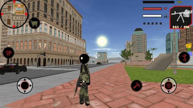 US Army Stickman Rope Hero counter terrorist pc screenshot 1