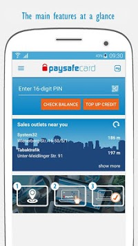 paysafecard – pay cash online pc screenshot 1