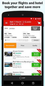 Webjet - Flights and Hotels pc screenshot 1