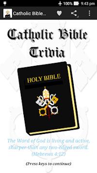 Catholic Bible Trivia pc screenshot 1