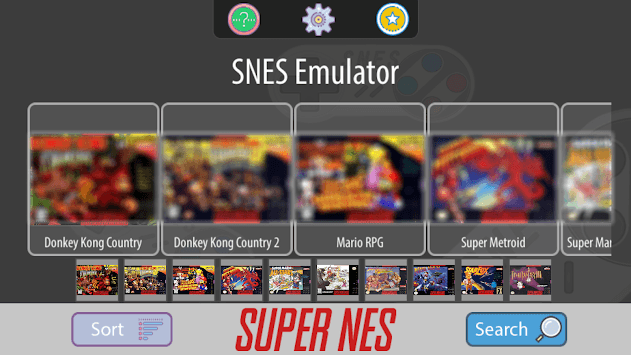 SNES Emulator - Super NES Games Classic Free pc screenshot 1