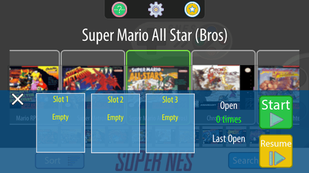 SNES Emulator - Super NES Games Classic Free pc screenshot 2