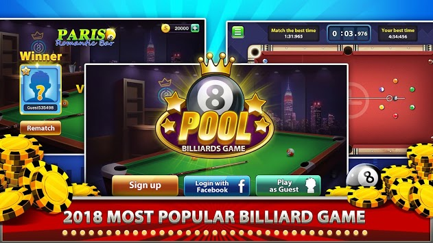 8 Ball - Billiards Game pc screenshot 1