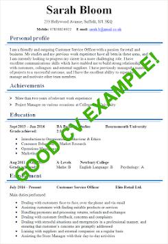 CV Examples 2018 pc screenshot 2