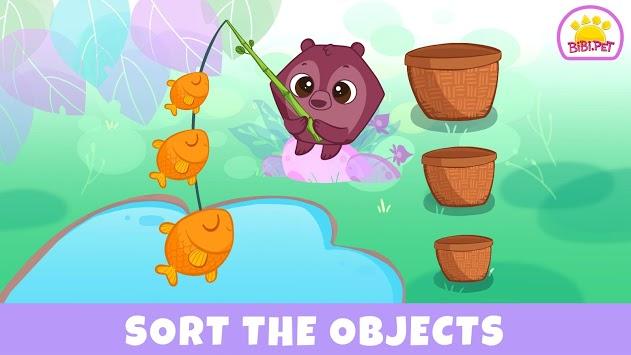 Learning Games for Toddler - Bibi.Pet Jungle pc screenshot 1
