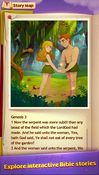 Bible Story Game - Free Bible Word Puzzle Games pc screenshot 1