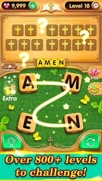 Bible Verse Collect - Free Bible Word Games pc screenshot 2