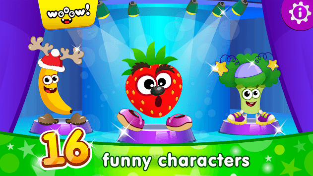 Funny Food DRESS UP games for toddlers and kids!😎 pc screenshot 1