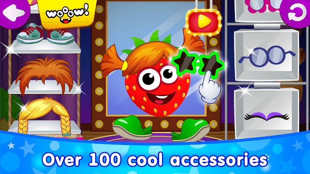 Funny Food DRESS UP games for toddlers and kids!😎 pc screenshot 2