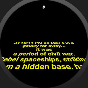 Star Crawl  Watch Face pc screenshot 2
