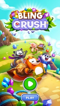 Bling Crush - Free Match 3 Puzzle Game pc screenshot 1