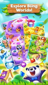 Bling Crush - Free Match 3 Puzzle Game pc screenshot 2