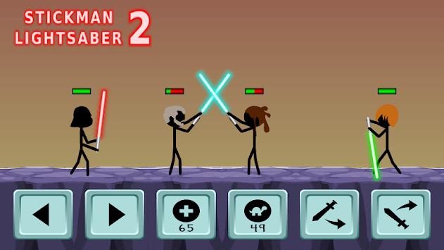 Stickman Lightsaber Warriors 2 PC screenshot 3