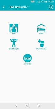 BMI Calculator - BMR Calculator & Ideal Weight pc screenshot 2