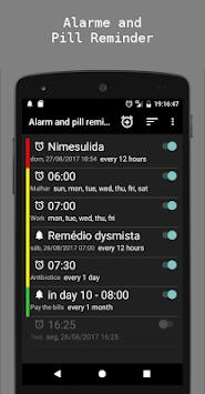 Alarm and pill reminder pc screenshot 1