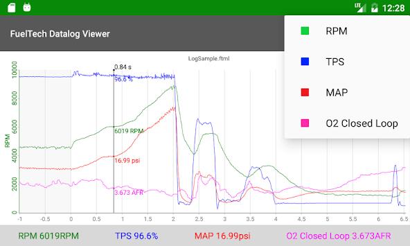 FuelTech Datalog Viewer pc screenshot 1