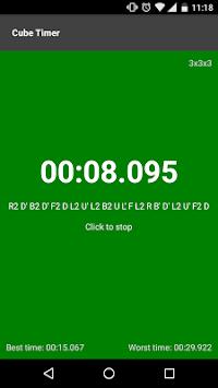 Cube timer pc screenshot 1