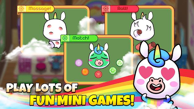 My Unicorn Virtual Pet - Cute Animal Care Game pc screenshot 1