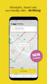 BVG BerlKönig: Ridesharing powered by ViaVan pc screenshot 1