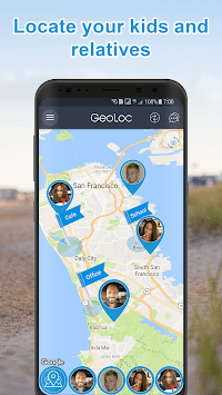 GeoLocator — Family Tracker + Baby Monitor Online pc screenshot 1